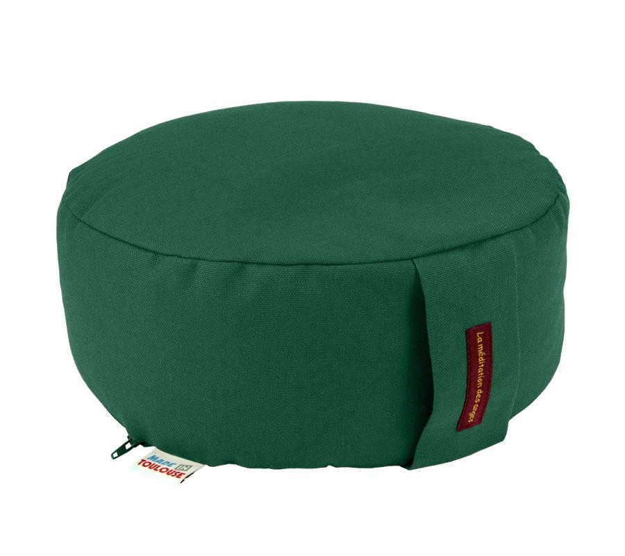 coussin de m ditation rond h 12cm coton et balle d. Black Bedroom Furniture Sets. Home Design Ideas