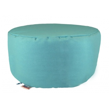 coussin-rond-pouf-bleu-turquoise